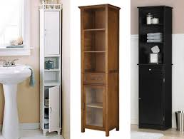 tall bathroom cabinets with drawers glass inserts for kitchen