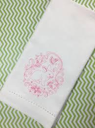 easter napkins sweet easter bunny cloth napkins set of 4 napkins white tulip