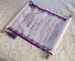 Scroll Invitation Rods Disney Wedding Scrolls Invitations Cinderella Royal Scroll