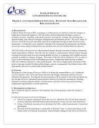 scope of work template in word and pdf formats
