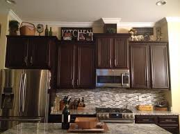 Decor Above Kitchen Cabinets Tag For Christmas Decorating Ideas For Above Kitchen Cabinets