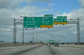 Interstate 95 In Georgia Wikipedia Interstate Guide Interstate 10