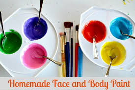 homemade easy face paint recipe kids play box