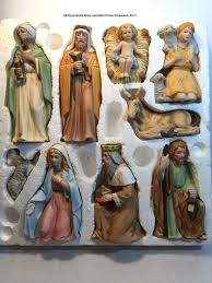 home interior figurines homco home interior 9 porcelain figurines nativity set