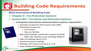 International Building Code Emergency Communication Systems Building Code Requirements