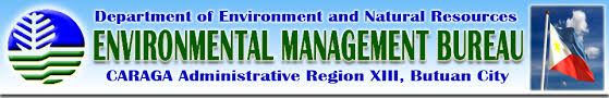 environmental bureau official website of emb caraga region