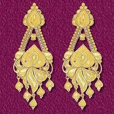 golden earrings choolgiri jewels gems lucknow wholesaler of golden jewellery