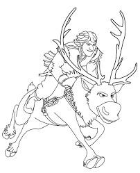 frozen coloring pages 18 to print or download for free
