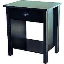 nouvelle dresser and pair of nightstands set black walmart com