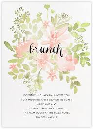 chagne brunch invitations brunch invitations online at paperless post