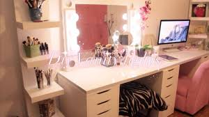 How To Make A Makeup Vanity Mirror Diy Hollywood Vanity Lights Mirror Kingparis Youtube