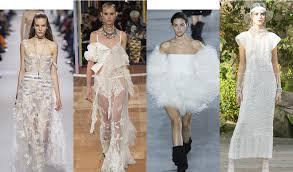 robe de mariã e occasion défilé beckham printemps été 2017 prêt à porter