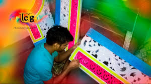 thermocol decoration making of ganesh decorations youtube