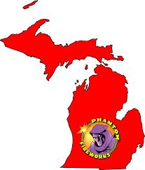 Birch Run Michigan Map by Phantom Fireworks Locations Michigan