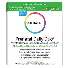 rainbow light multivitamin side effects rainbow light prenatal daily duo multivitamin dietary supplement