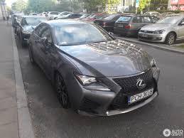 lexus rc f matte black lexus rc f 16 may 2017 autogespot