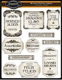image result harry potter apothecary labels free printable
