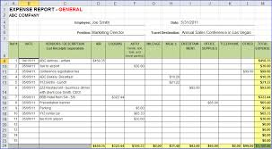 Monthly Expense Report Template Excel 8 Excel Expense Report Weeklyplanner Website