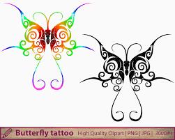butterfly tattoo clipart abstract tattoo design clip art