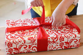 gift wrap ribbon gift wrapping tutorial part one