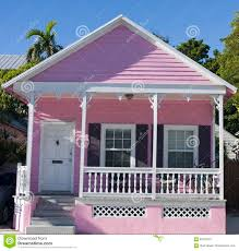 pink house in key west florida stock photo image 62219023