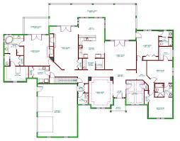 flooring open layout floor plans one story house plansopen forafri