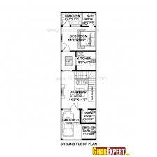 stunning house plan for 16 54 plot plot size 96 square