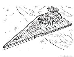 star wars u2013 star destroyer coloring coloring central