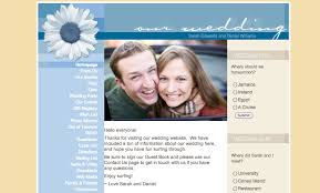 registry wedding website when to create your wedding website ewedding