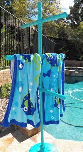 best 25 towel rack pool ideas on pinterest pvc towel drying