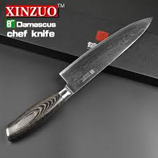 steel kitchen knives damascus kitchen knife xinzuo 8 chef knife damascus merchant