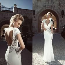 stylish wedding dresses milla 2018 chagne lace wedding dresses a line boho pearls