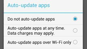 android disable auto update enable or disable auto update function on apps from play