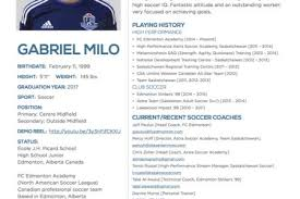 Coach Resume Example by How To Do A High Resume High Soccer Coach Resume