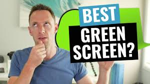 best green screen for videos which green screen kit is right for