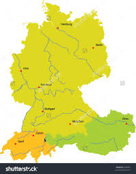 download map of major cities in germany major tourist