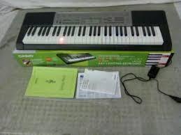 casio lk 175 61 lighted key personal keyboard casio lk 175 lighted key premium keyboard pack with samson hp30