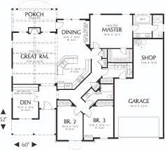main level floor plan 2000 square foot craftsman home home