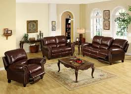 Leather Reclining Sofa Sets Sale Leather Sets For Sale Intended Invigorate Brown Sofa