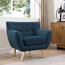 Navy Blue Leather Club Chair Modway Remark Modern Upholstered Armchair Multiple Colors