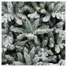lightly flocked christmas tree 9ft prelit full slim artificial christmas tree flocked balsam fir
