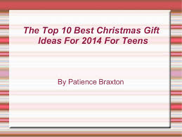 the top 10 best christmas gift ideas for 2014 for teens 1 638 jpg cb u003d1413476848