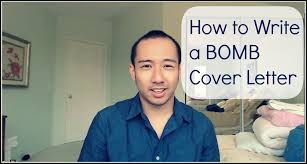 how to write a cover letter examples youtube