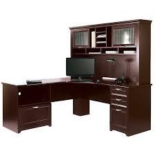 Magellan L Shaped Desk Hutch Bundle Thediapercake Home Trend