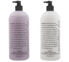 philosophy super size fragrance 3 in 1 gel body lotion duo philosophy super size fragrance 3 in 1 gel body lotion duo page 1 qvc com