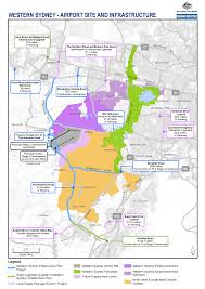 Where Is Wales On The Map Western Sydney Infrastructure Plan