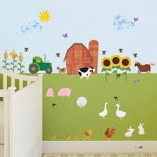 Wall Decal For Kids Room by Farm Theme Kids Room
