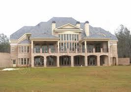 luxury house blueprints house plan ashburtonrearsfw 0 with rear view extraordinary