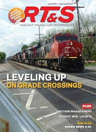 rt u0026s june 2016 by railway track u0026 structures issuu