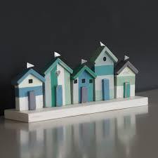 marine coloured beach huts u2013 libby and may u2013 home decor u0026 gifts
